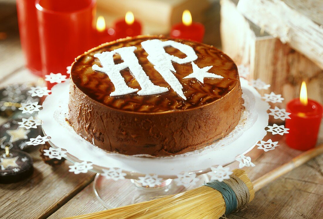 Cake for Harry Potter party