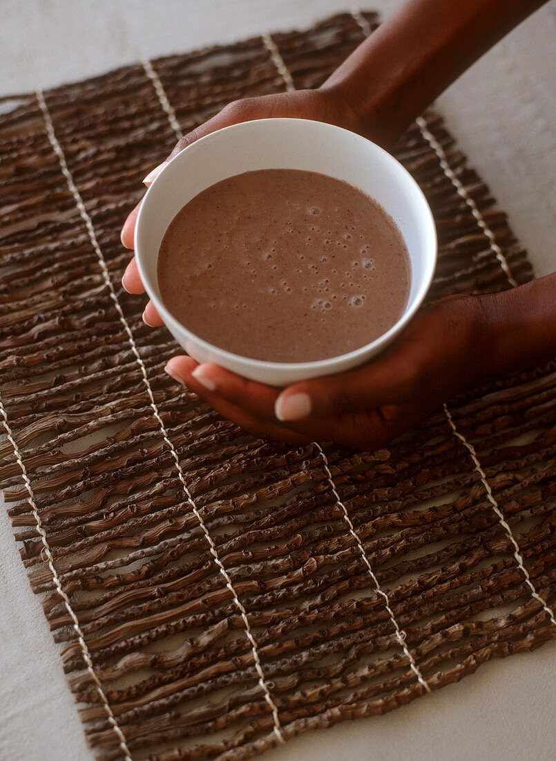 Umquoboti (African sorghum beer)