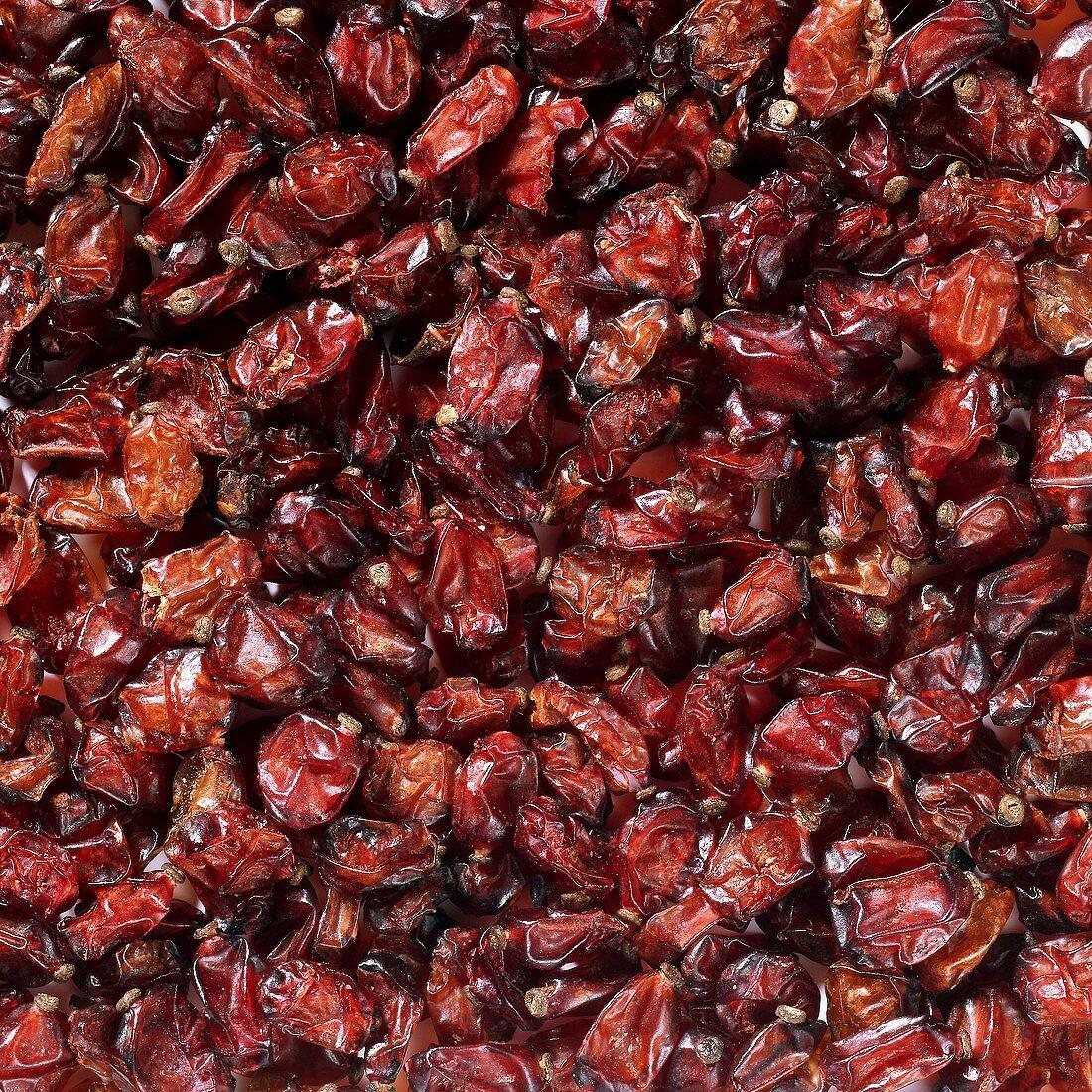 Dried barberries (full-frame)