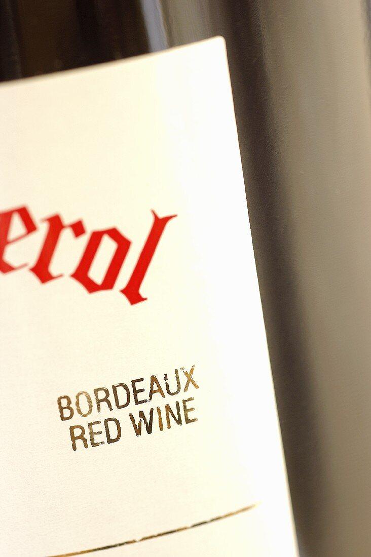 Bordeaux label