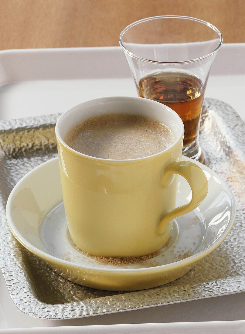 Caffe Coretto mit Brandy