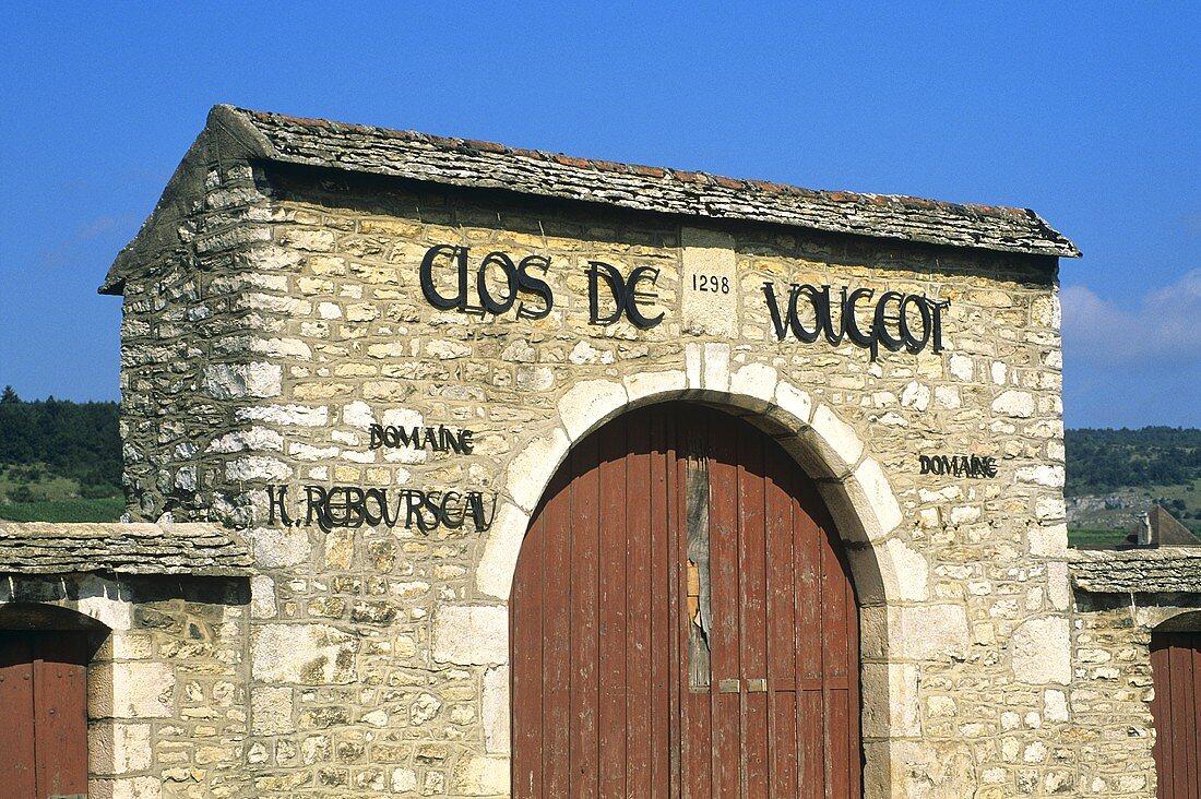 Domaine Rebourseau, Clos de Vougeot, Côte d'Or, Burgundy