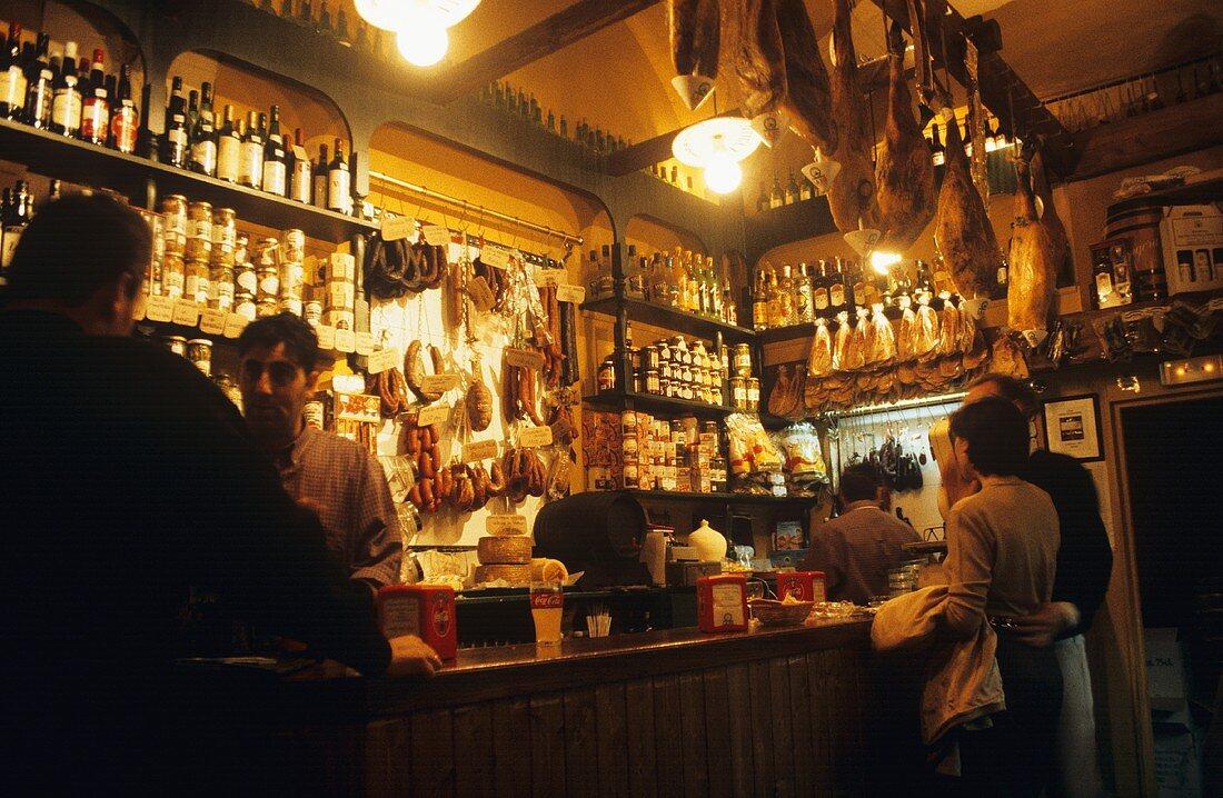 Tapas bar in Jerez de la Frontera, Spain
