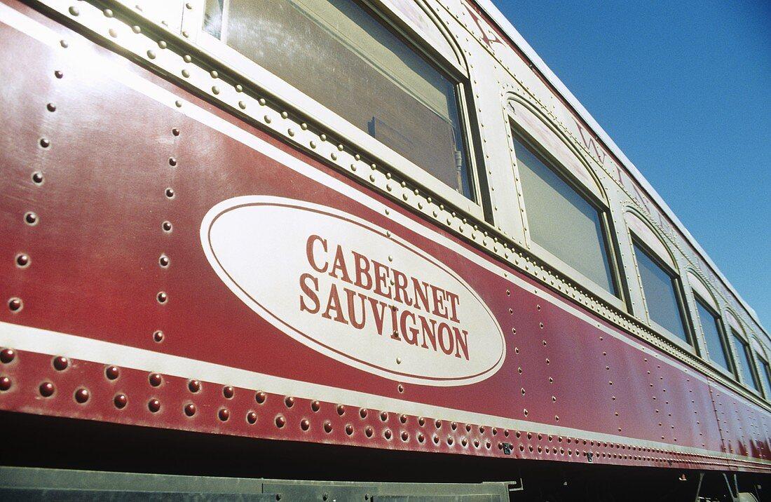 Napa Valley 'Wine Train', San Francisco, USA