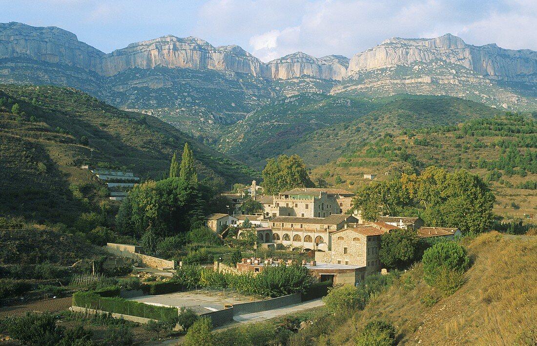 Wine village of Scala Dei, Priorato, Spain