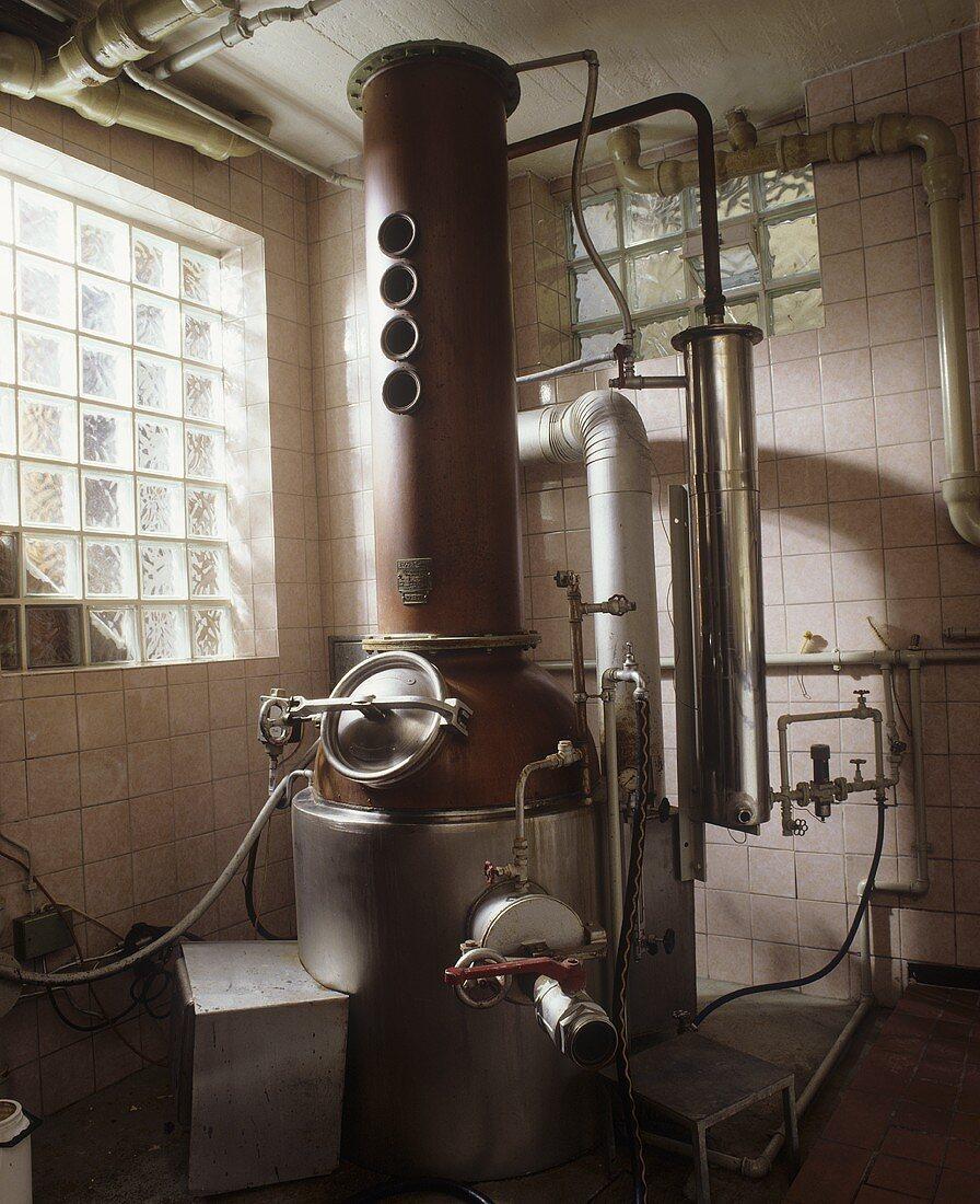 A distillation plant