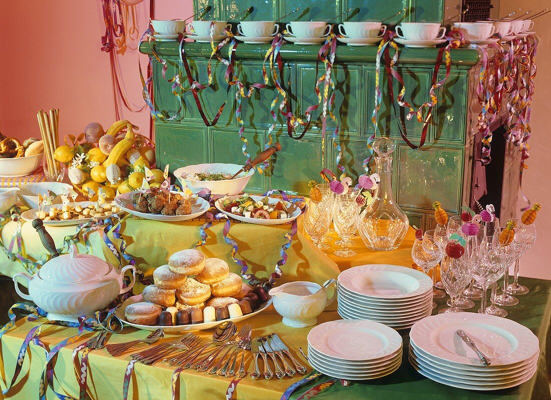 Buffet for Carnival