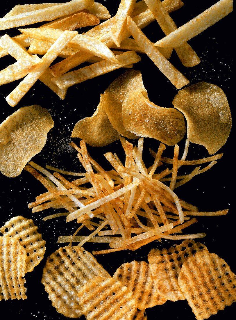 French Fries; Potato Chips; Potato Sticks