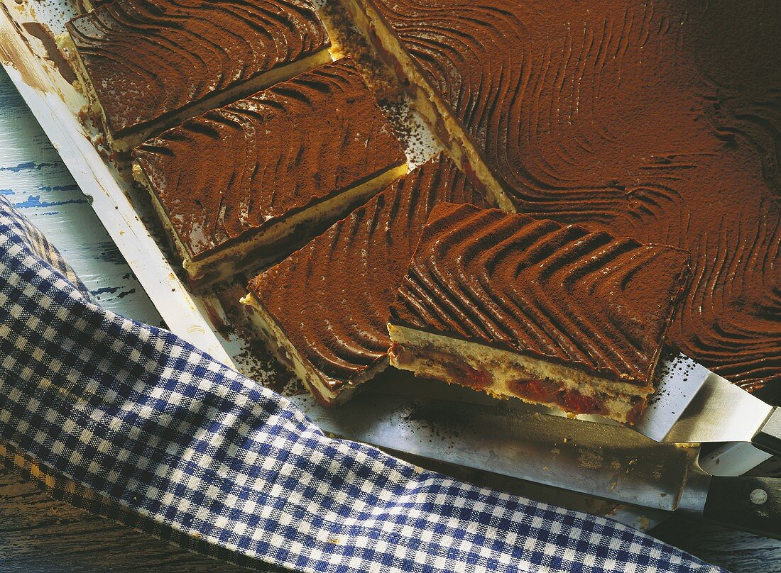 Waves on the Danube (marble cake)