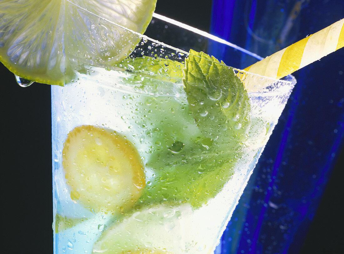 Cool Drink with Lemon