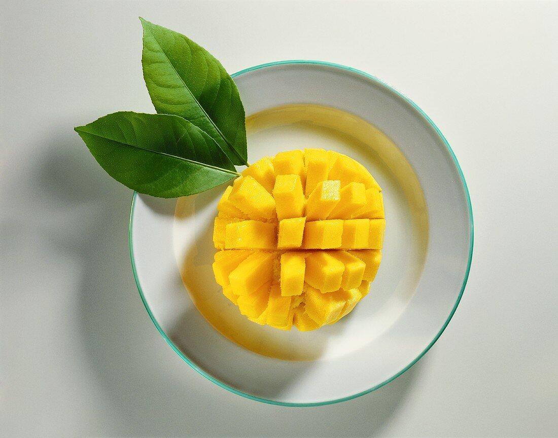 A Sliced Mango