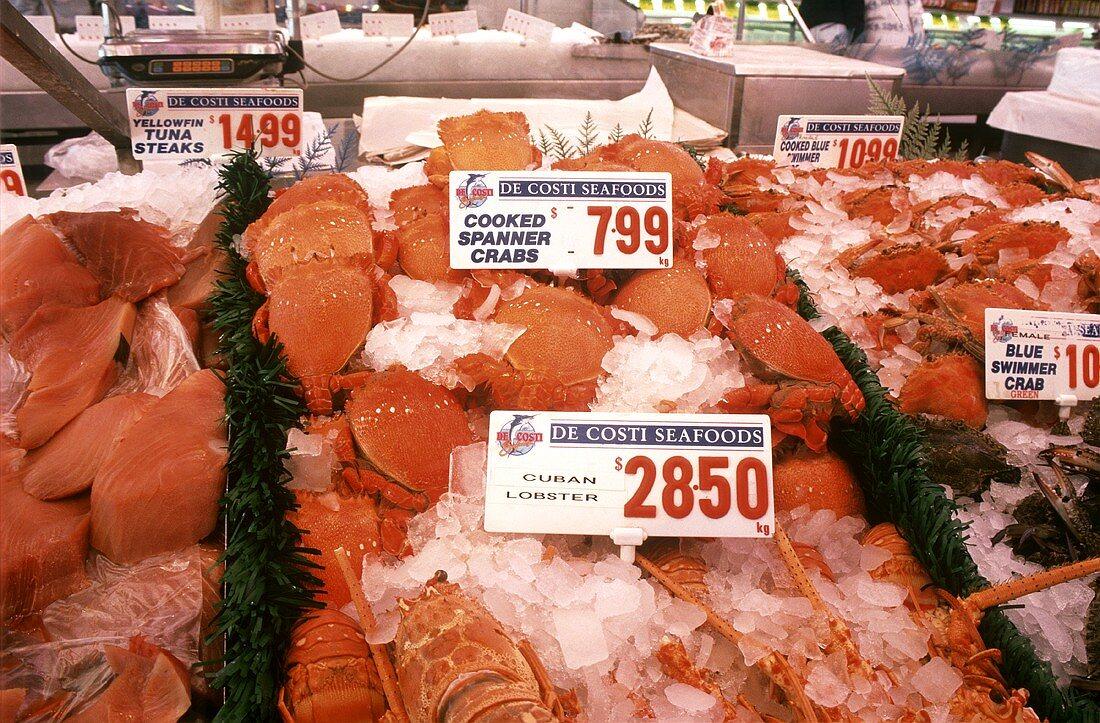 Fish Market in Sidney, Australia