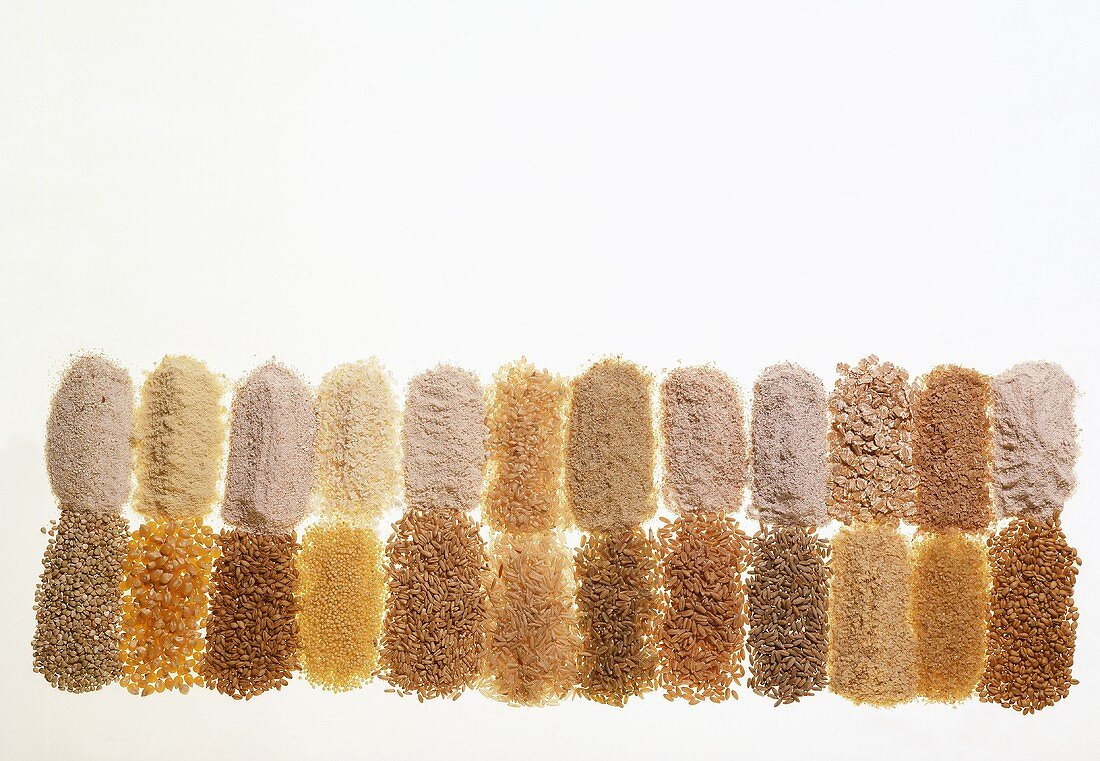 Flour & Grain Still Life