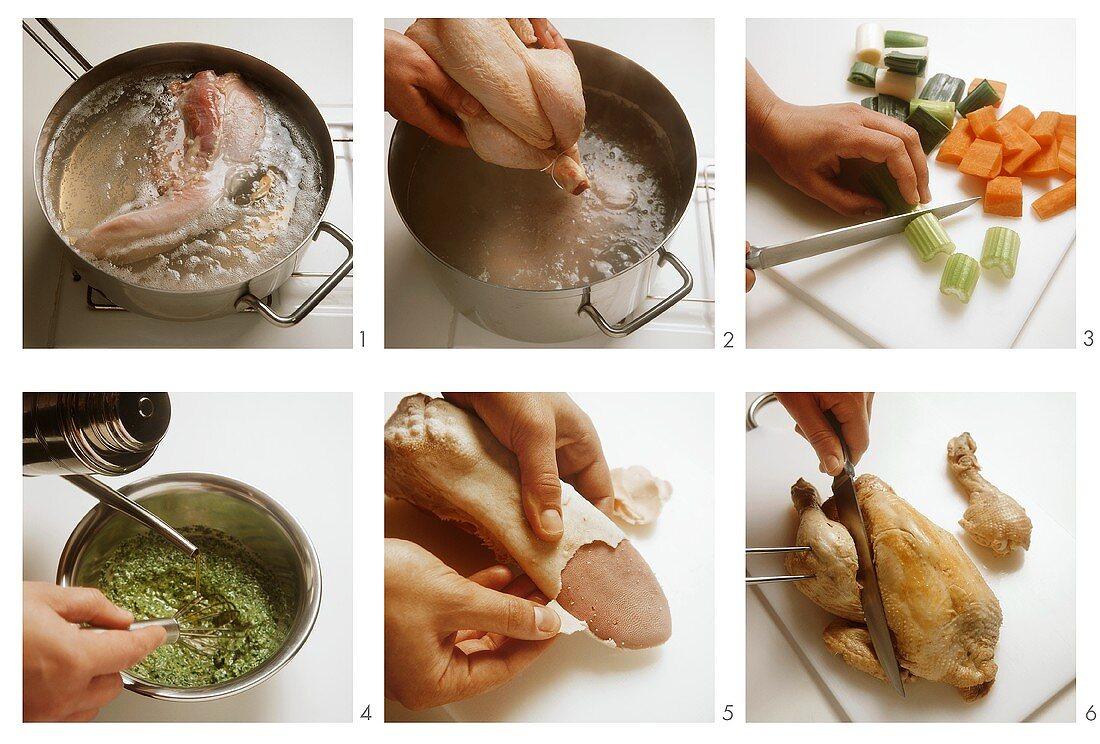 Bollito Misto con Salsa Verde