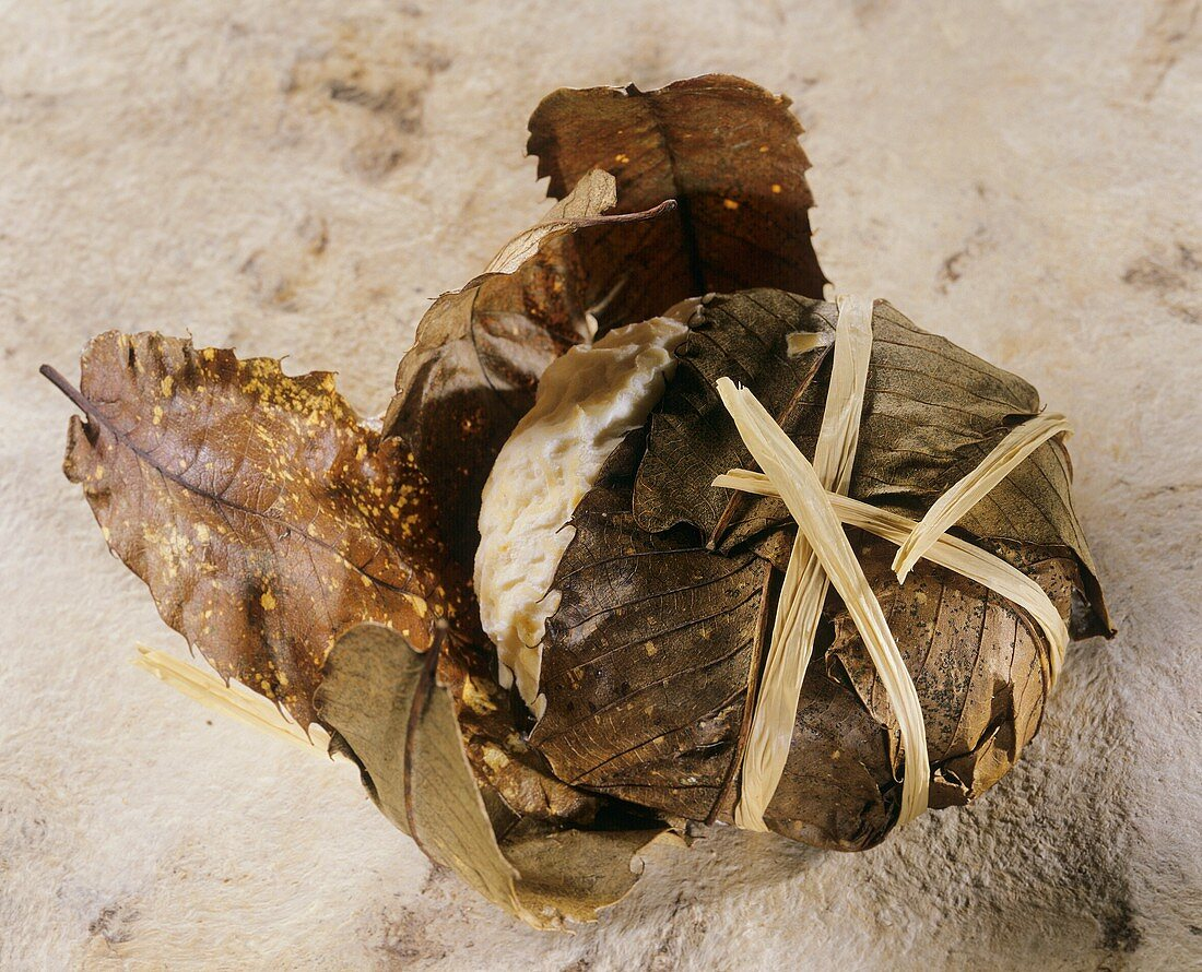 Banon, a French goat's cheese wrapped in leaves