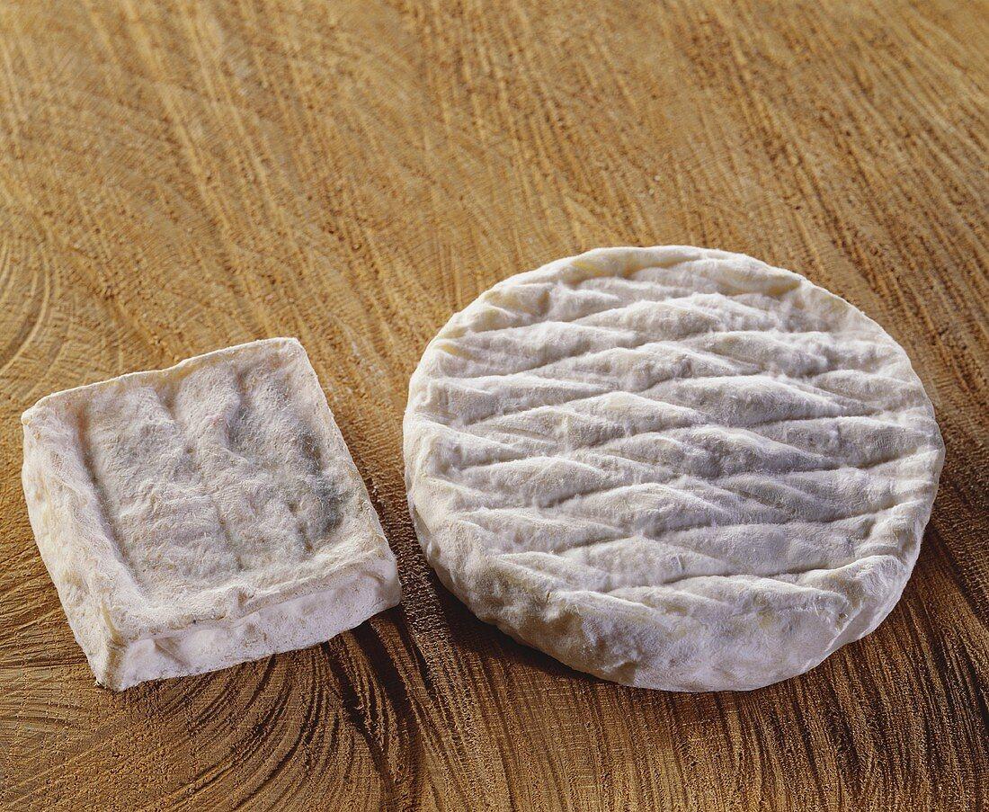 Französischer Schafskäse Fedo und Galette de Brebis