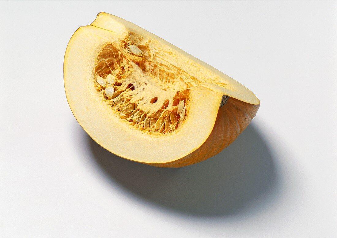 Wedge of pumpkin