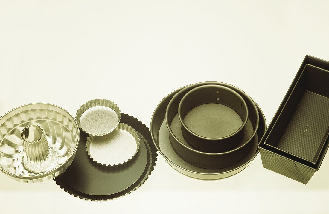 Assorted Cake Pans and Molds
