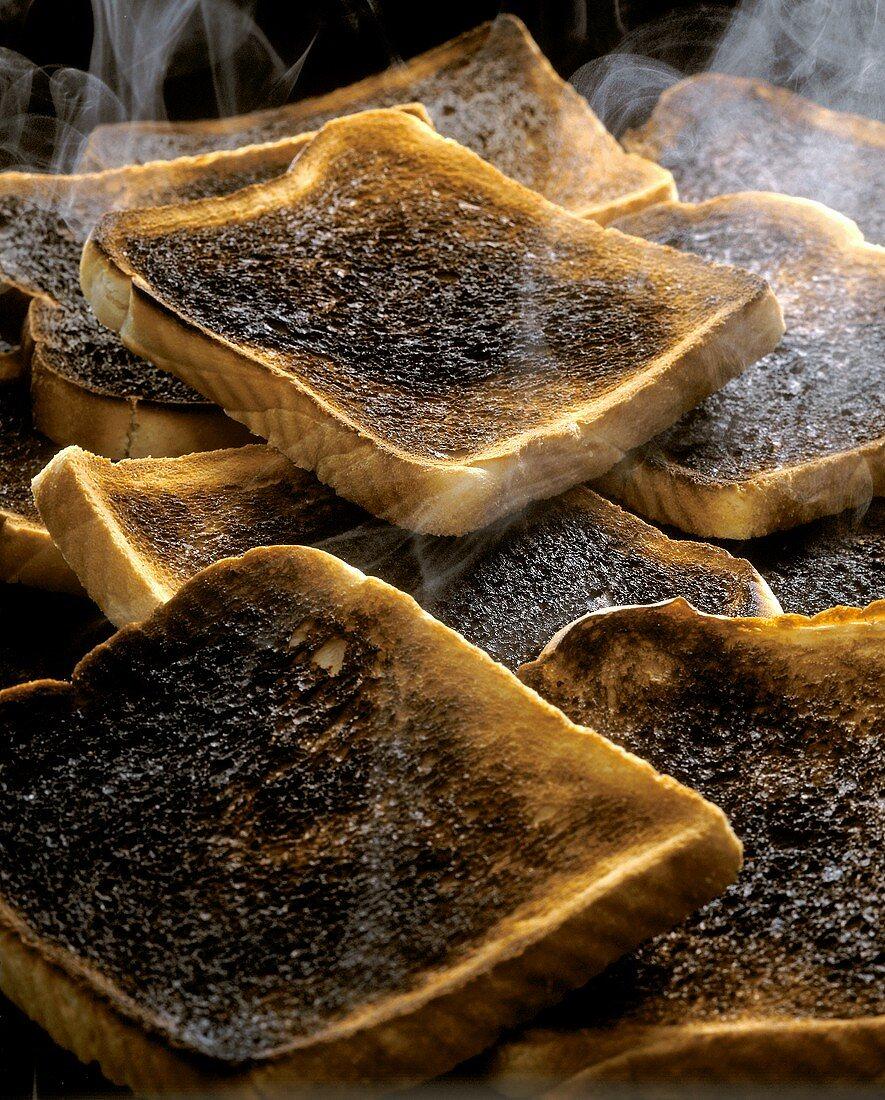 Burnt Toast; Steaming