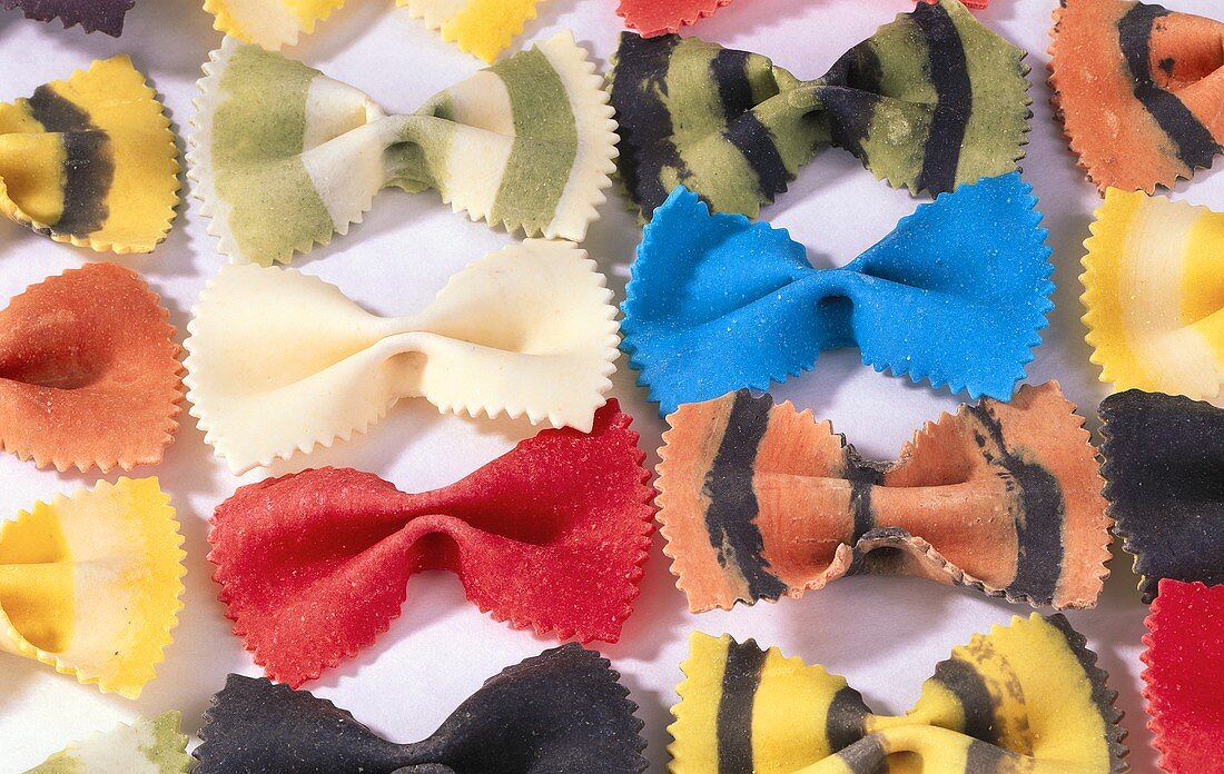 Farfalle in Different Colors
