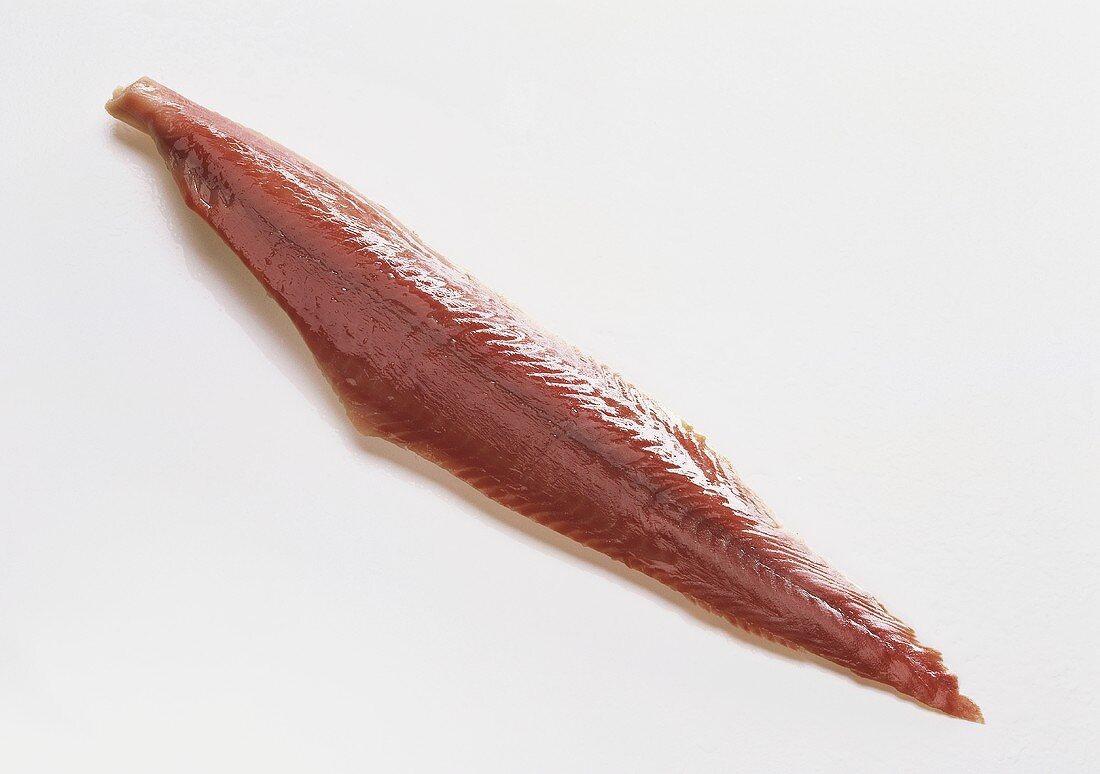 Catfish fillet, smoked