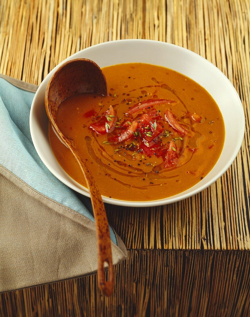 Provencal-style fish and tomato soup