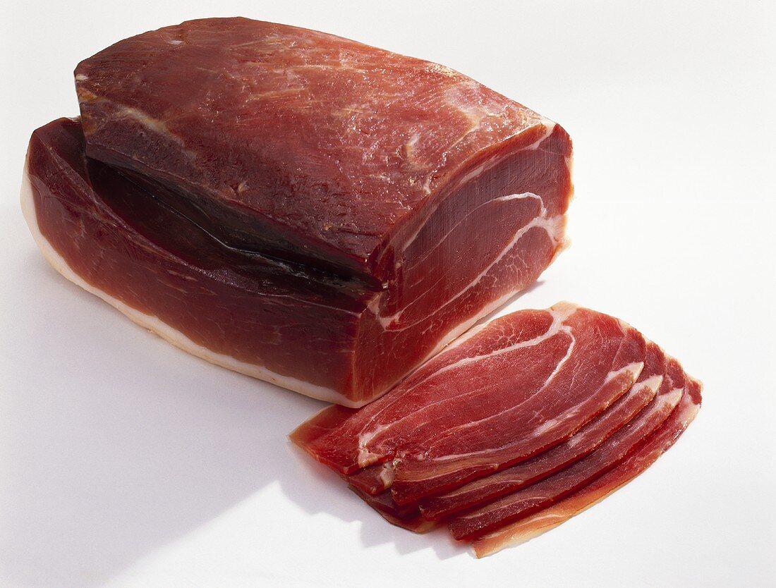 Air-dried ham (Alemannenschinken, Germany)