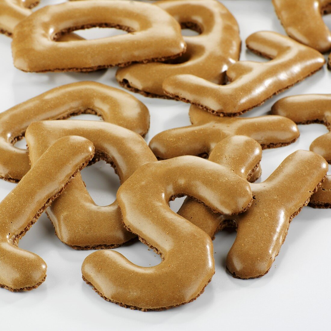 Russisch Brot ('Russian bread', letter biscuits)