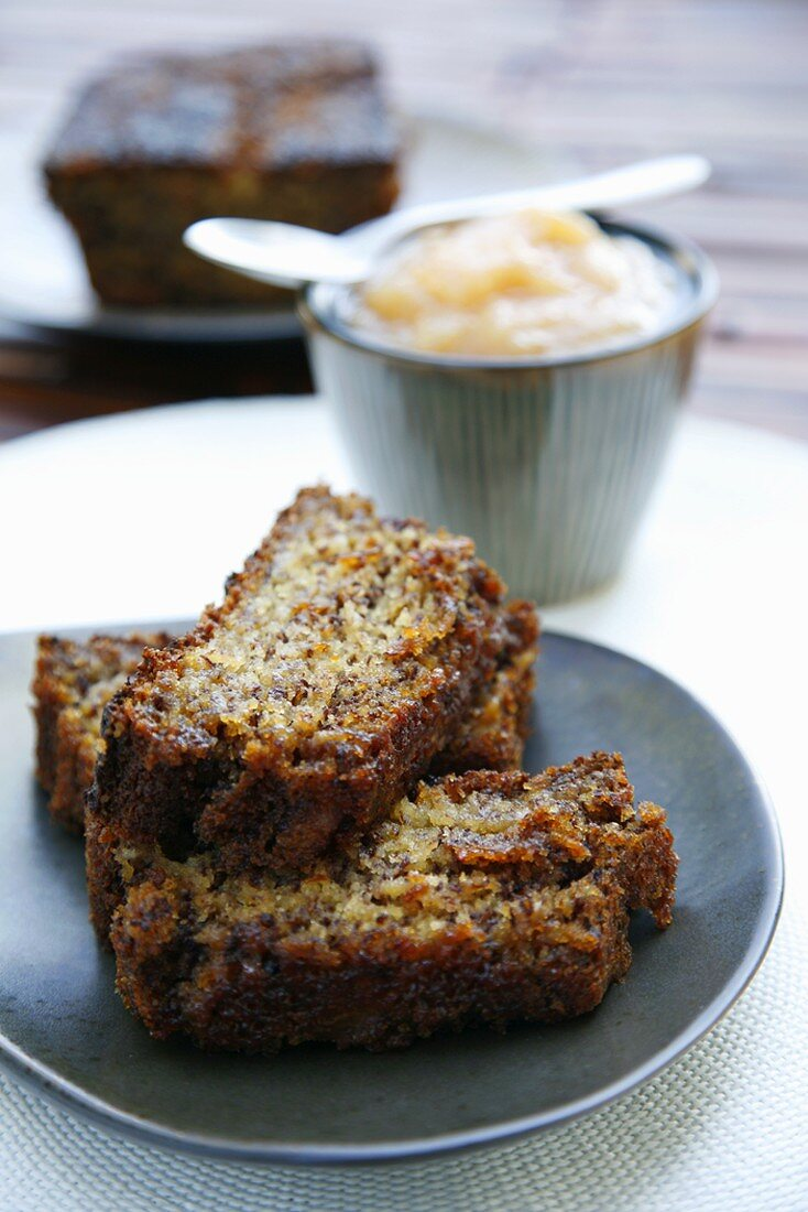 Banana bread from Namibia, Africa