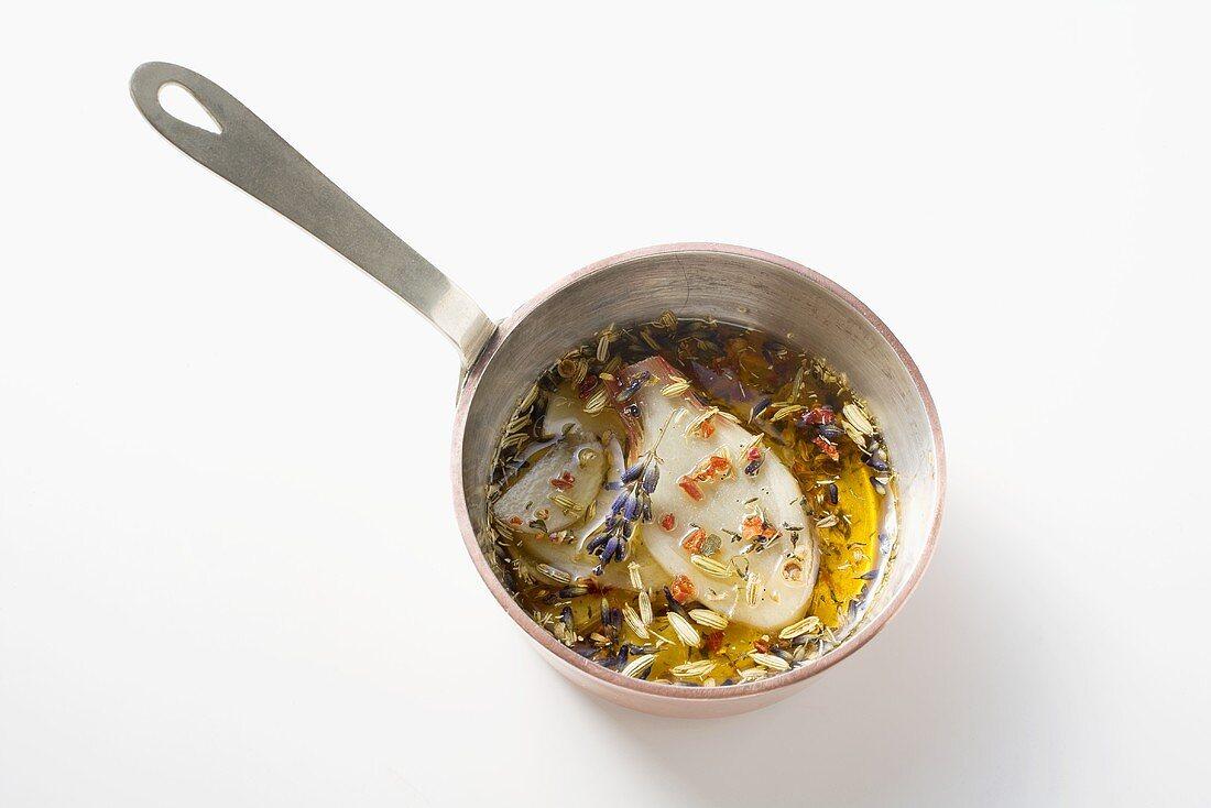 Spanish lavender butter