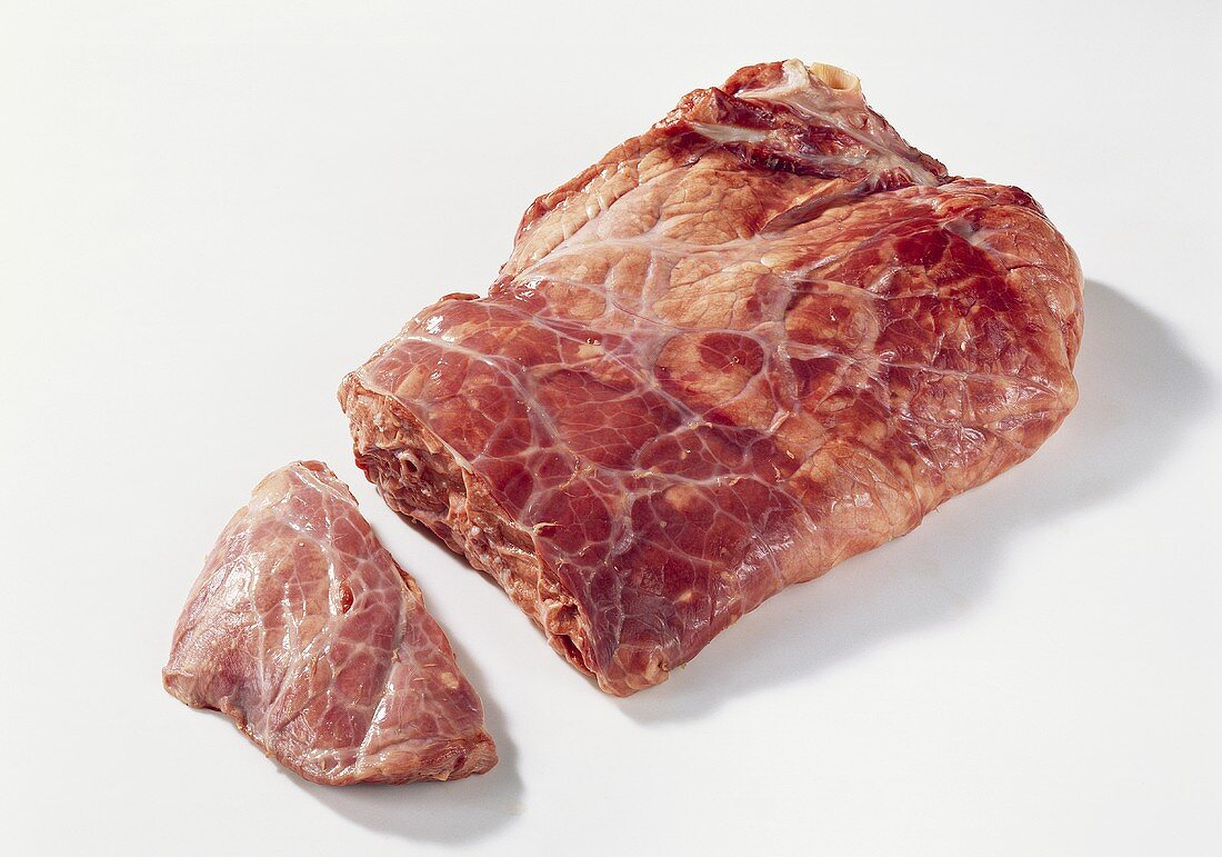 veal lung, a piece cut off