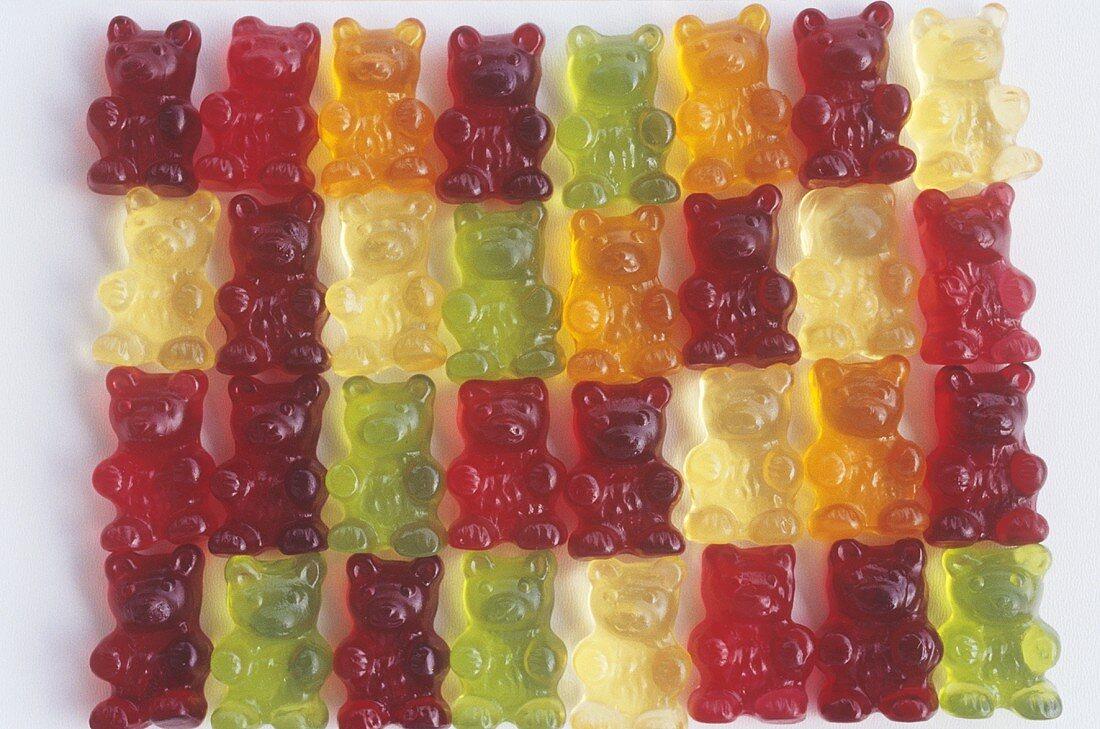 Many gummi bears