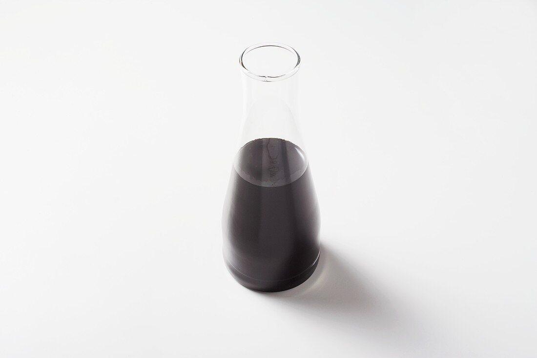 Balsamic vinegar in a carafe