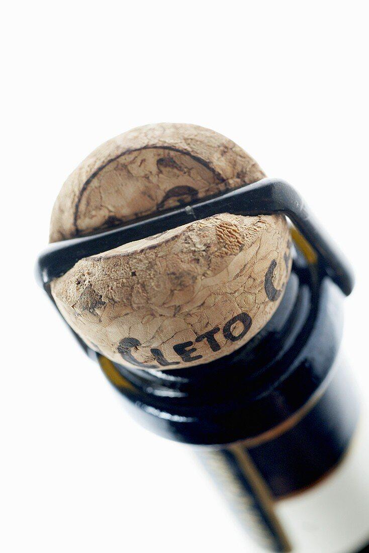 Prosecco bottle seal