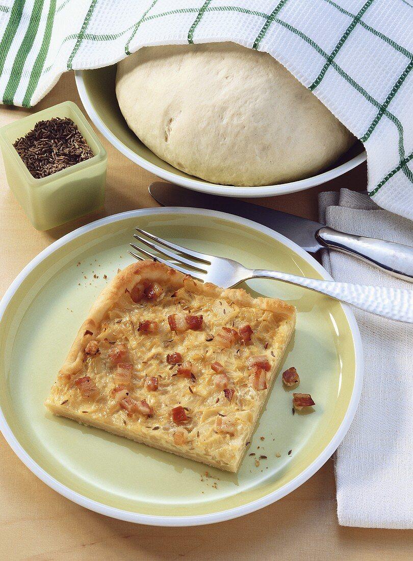 Swabian onion tart