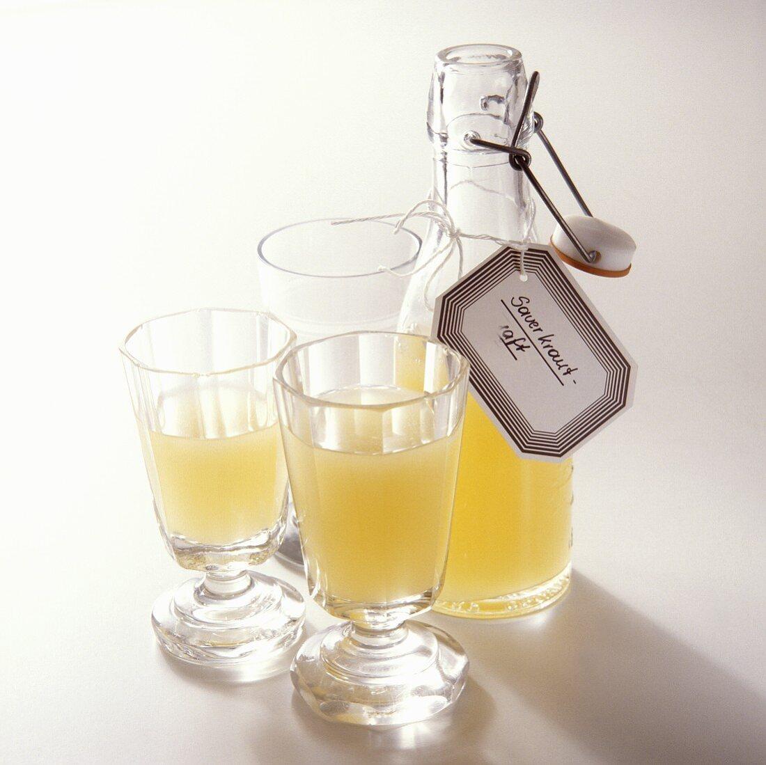 Sauerkraut Juice