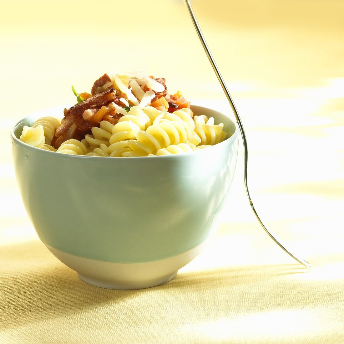 Fusilli with vegetable sauce