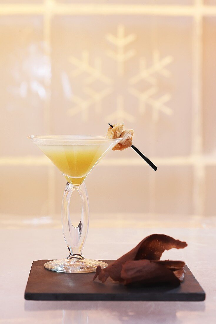 Pear and apple Martini