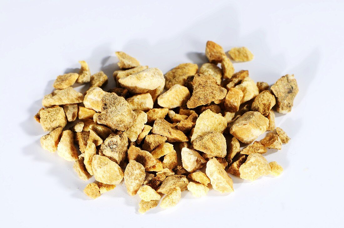 Dried water plantain root