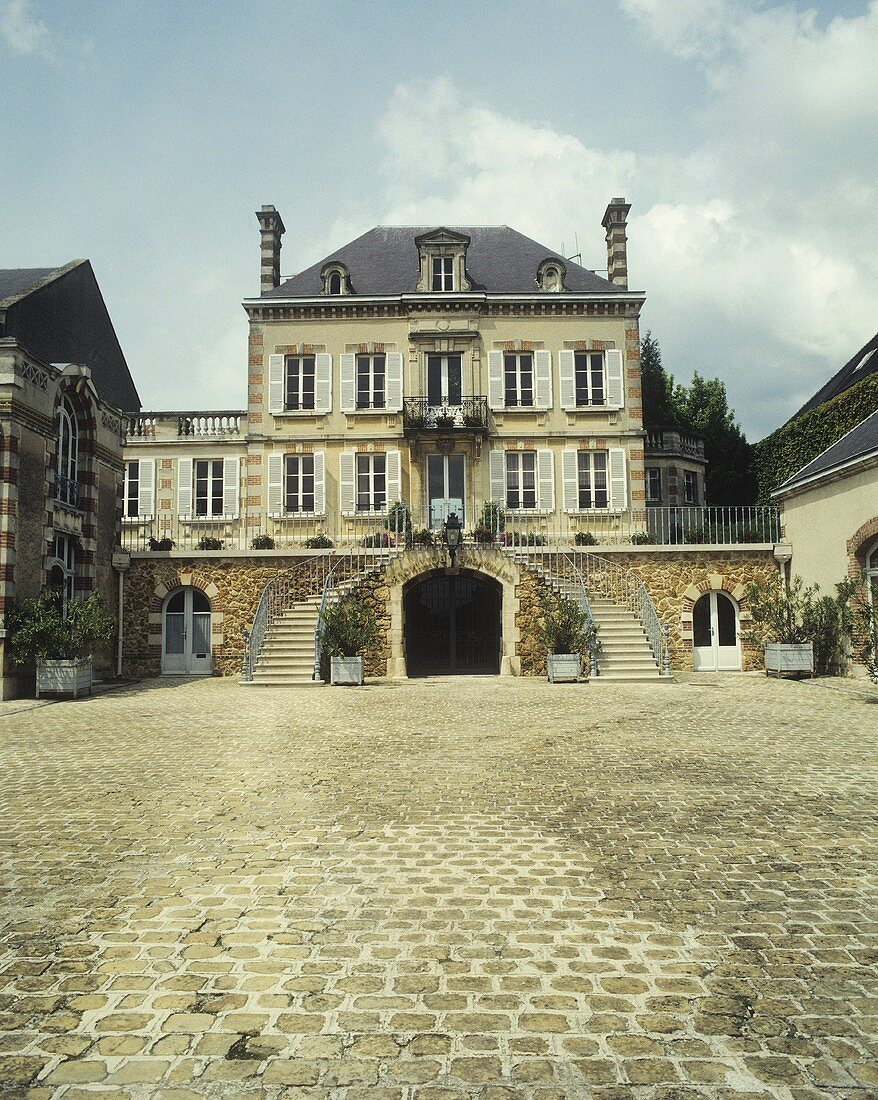 The Champagne house of Bollinger, Ay, Champagne, France