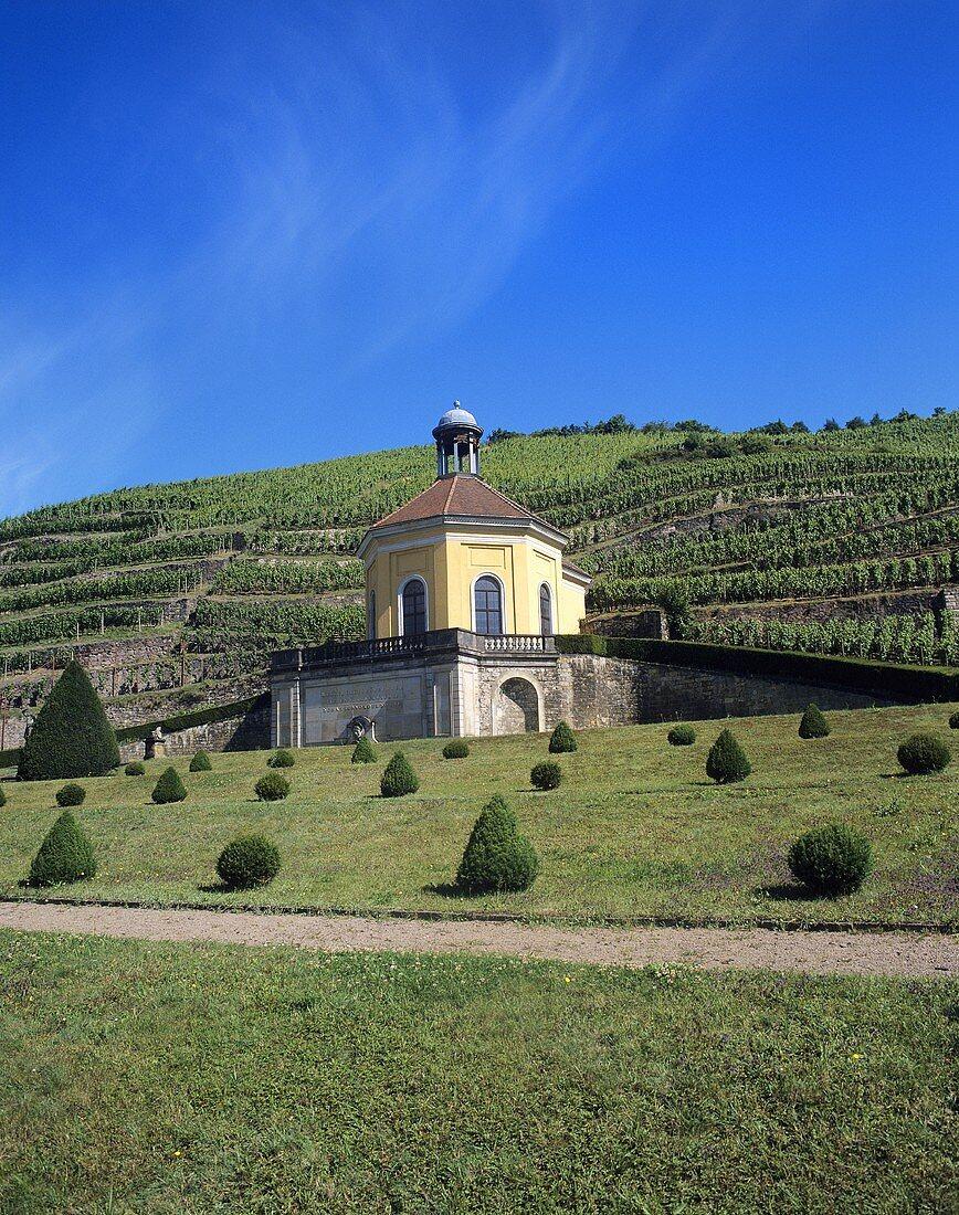 Belvedere pleasure house, Wackerbarth Castle, Saxony, Germany