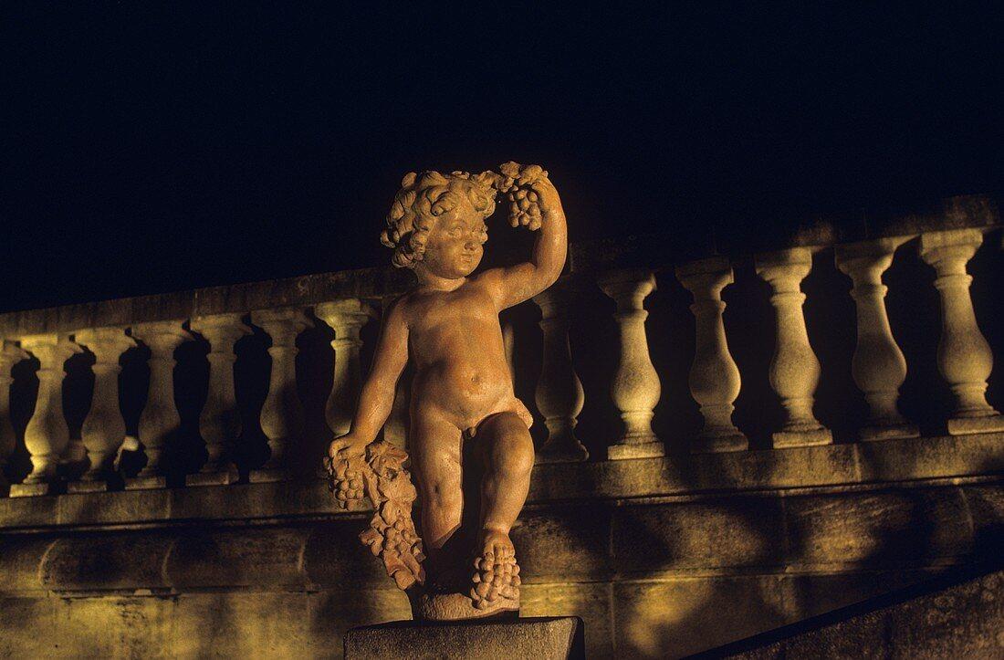 Statue at Chateau Pichon Longueville Comtesse de Lalande