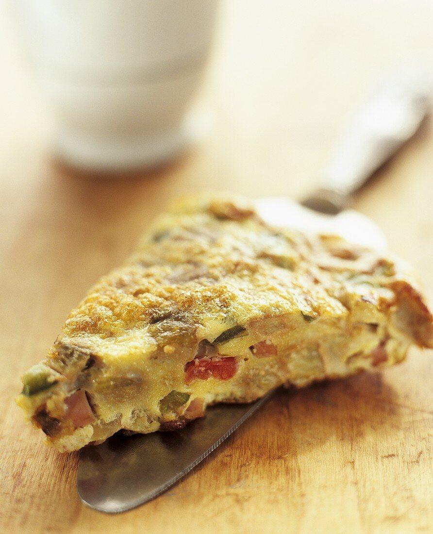 Mediterranean peasant's omelette