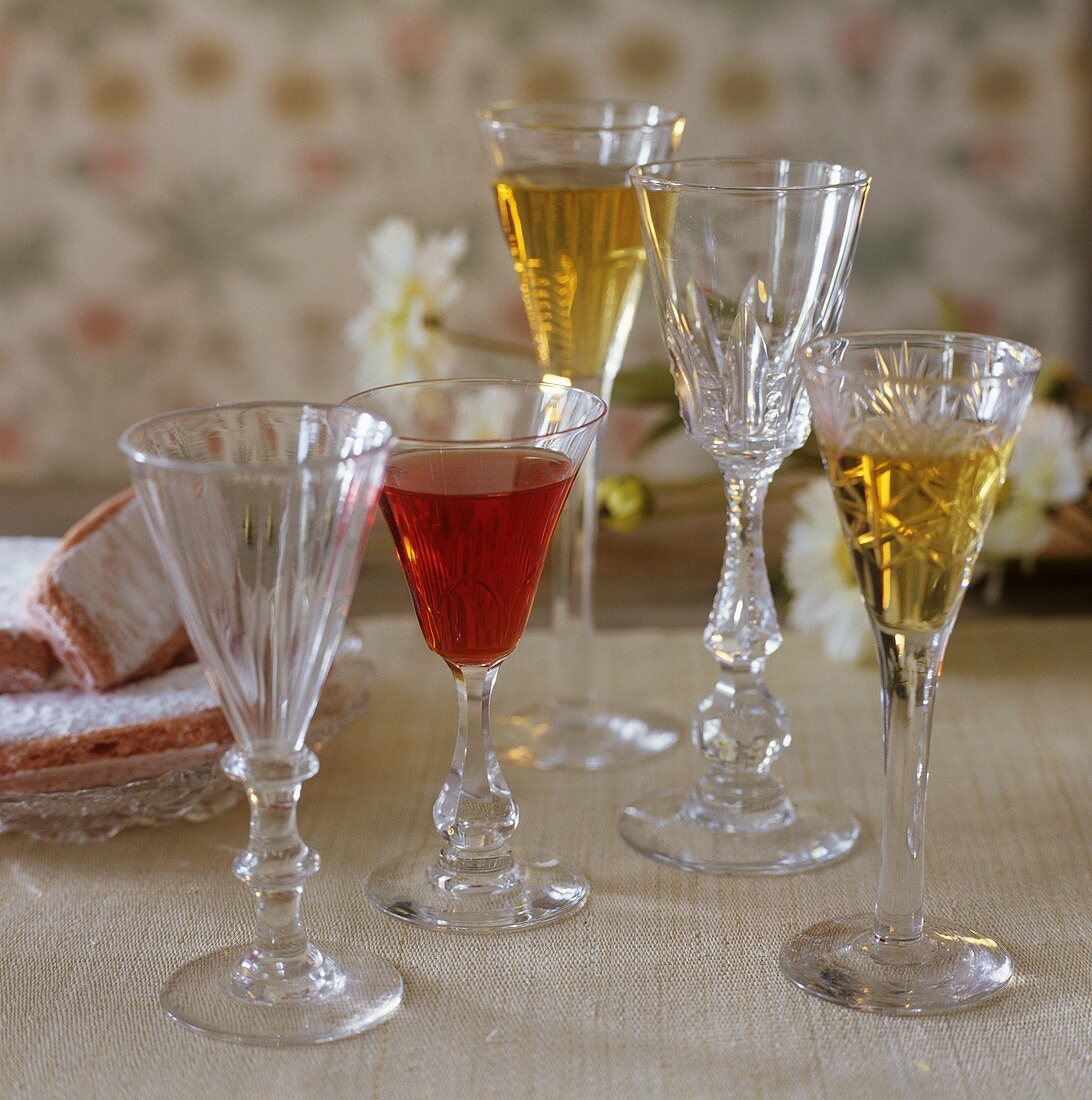Sherry and redcurrant liqueur