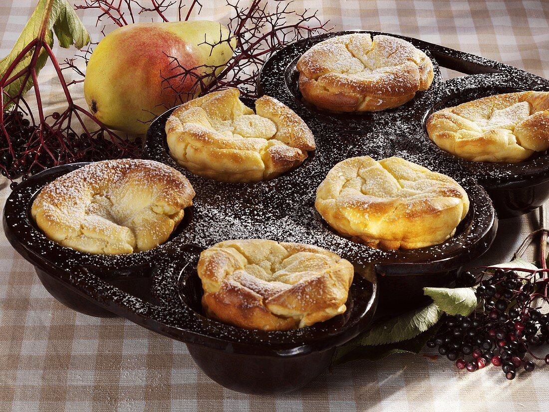 Pfitzauf (Baked batter cakes, Baden Württemberg)