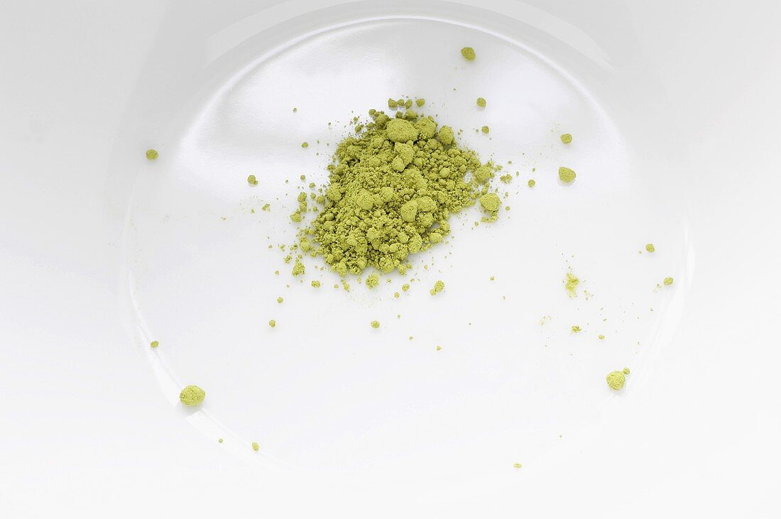 Matcha tea (green powdered tea, Japan)