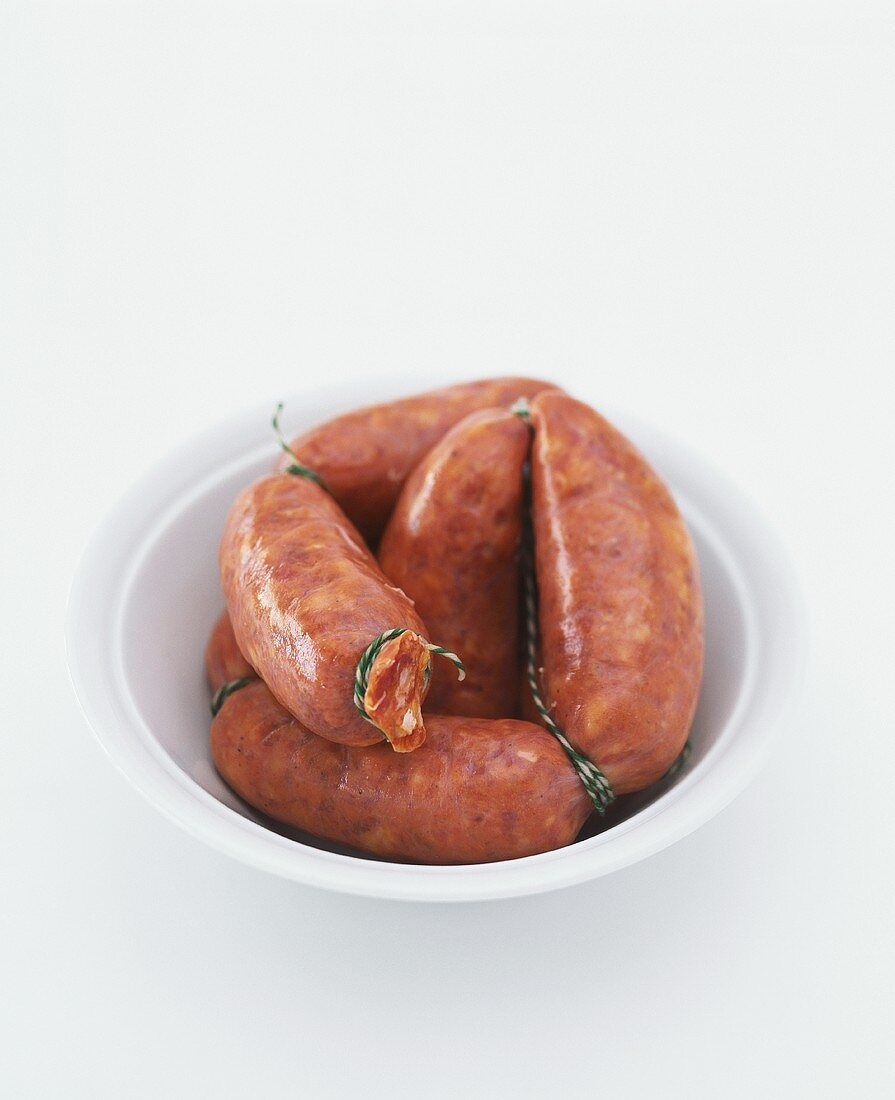 Chorizo (red paprika sausage, Spain)