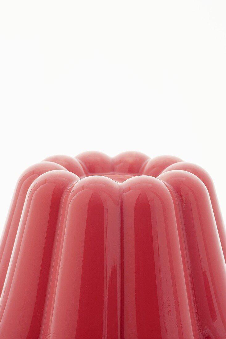 Cherry blancmange