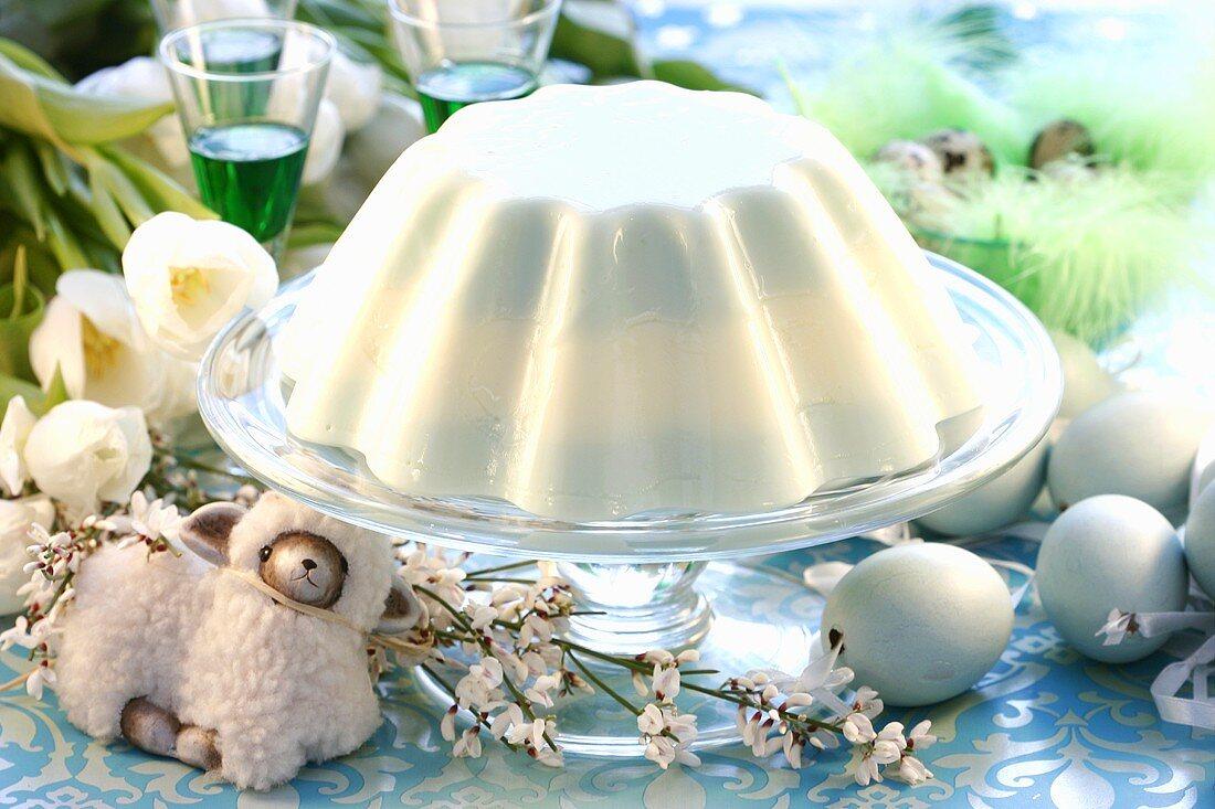 Yoghurt cheesecake for Easter