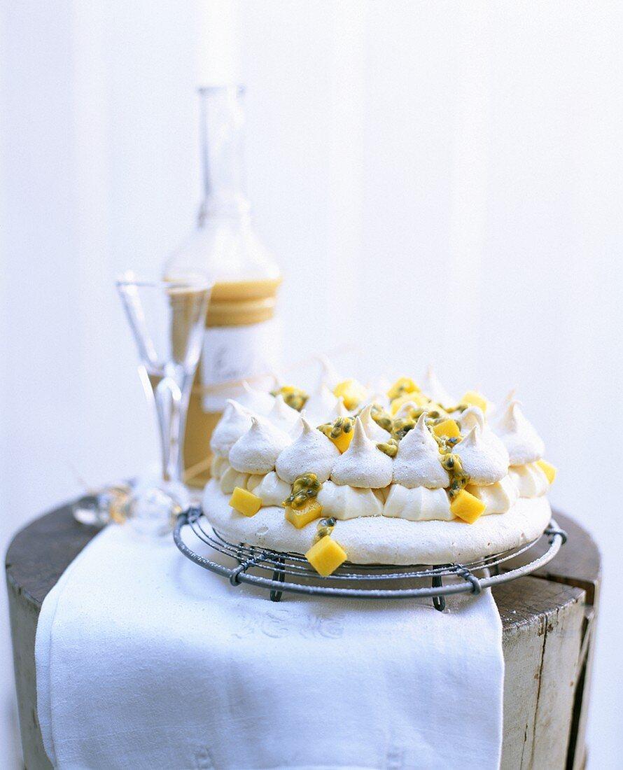Pavlova (Meringue and fruit dessert, Australia)